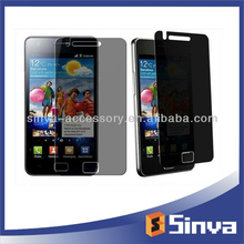 For mobile sumsung i9103/Galaxy R/Galaxy Z blackberry privacy screen protector from factory direct provider