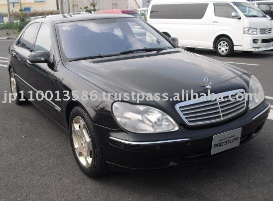 2001 Mercedes Benz S Class S600L used car GF-220178