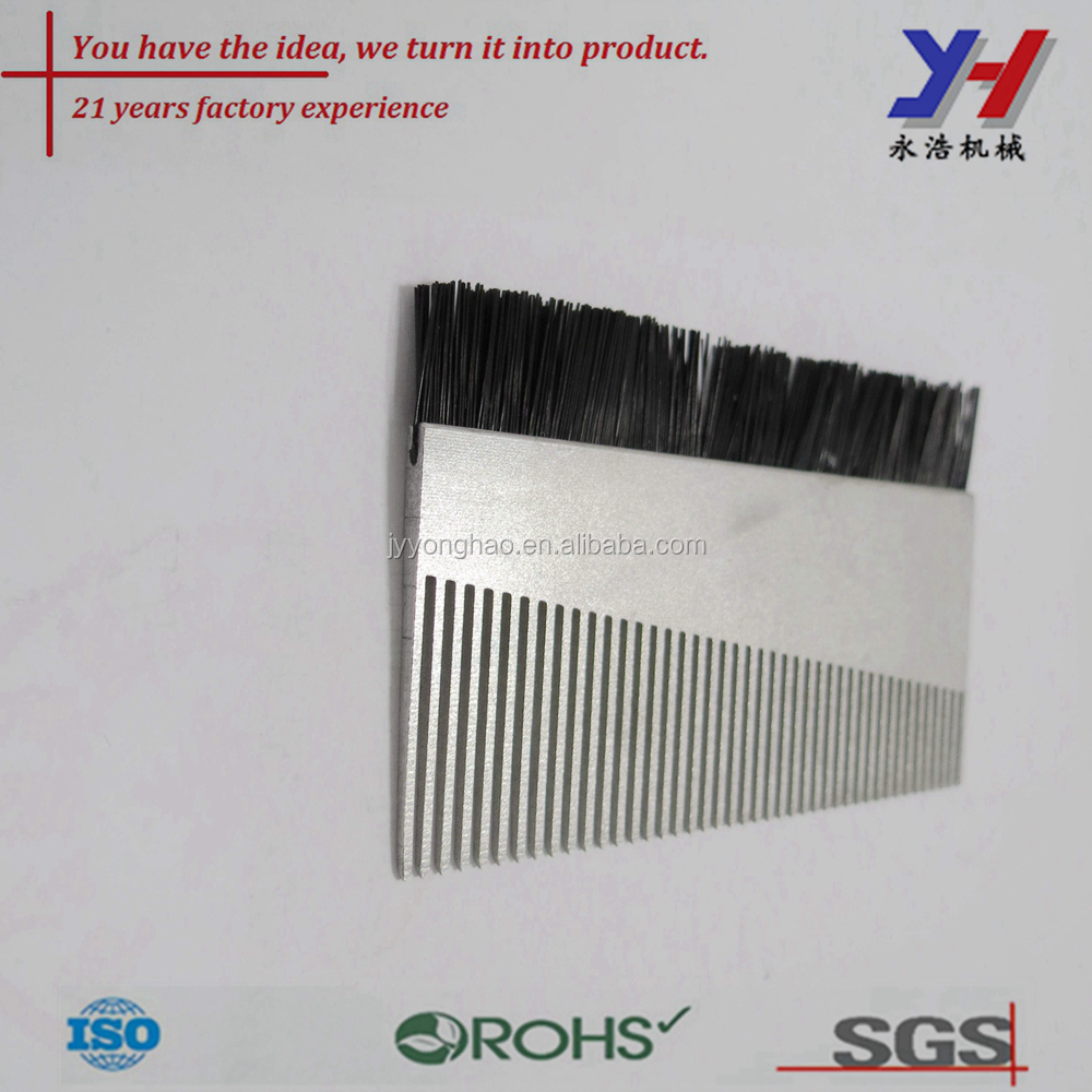 OEM ODM precision factory price high quality aluminum beard comb