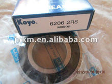 Skf ball bearing dimension 30*62*16mm deep groove ball bearing 6206
