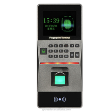 F16 TCP/IP fingerprint smart card rfid card keypad access control and time attendance system,