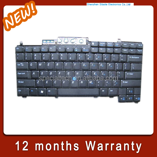 Notebook Keyboard for Dell D620 D630 D631 Laptop US Keyboard Teclado Tested