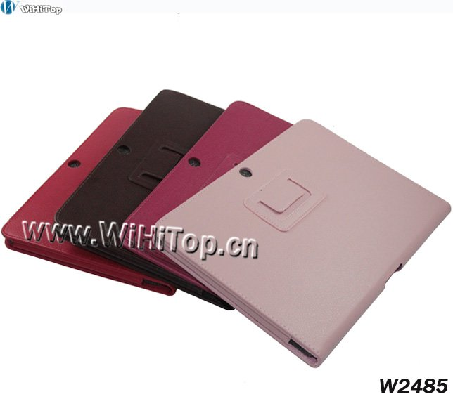 For Samsung Galaxy Tab 2 10.1 P5100 Luxury Leather Stand Case Factory Direct Sale+Best Service