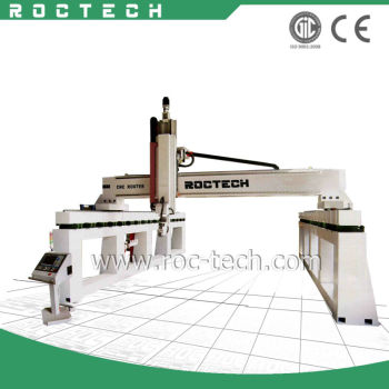 5 axis CNC Router RCF2560 For Car Moulding/Ship Mold