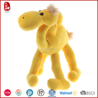 2015 low price plush yellow camel toys as gift and promotion