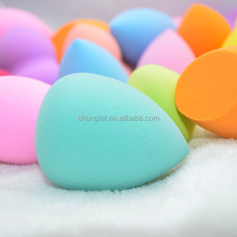 Hot Selling Malfunctional Cosmetic Powder Puff, different shape with different color