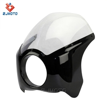 Hot Universal Motorcycle Headlight Fairing Cafe Racer Fairings for Harley Davidson Sale