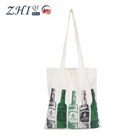 ZQ-J-033 Dongguan Cotton factory manufacture BSCI cheap promotional tote bag shopping bag
