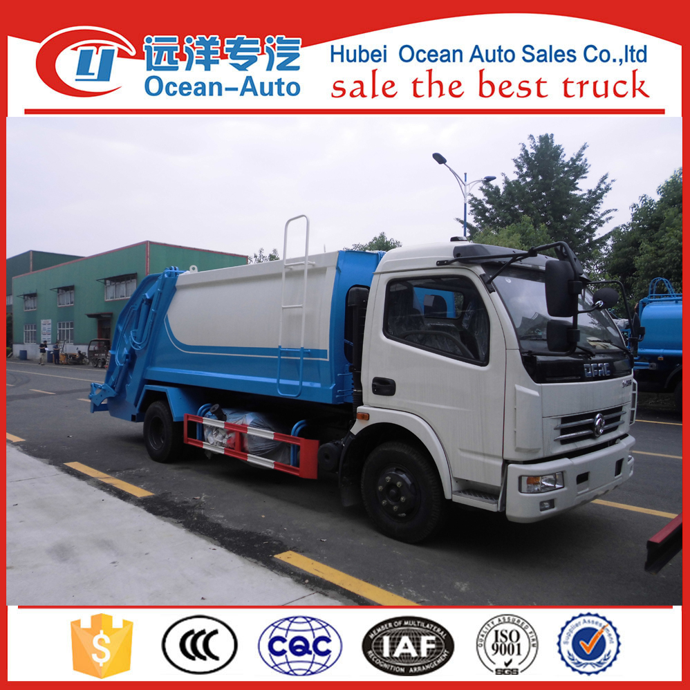 Dongfeng 8 Cubic Meters Waste Compactor Truck