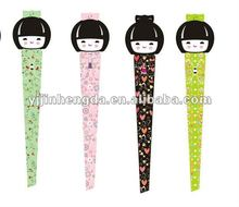 Janpaness cartoon girl staniless steel tweezer