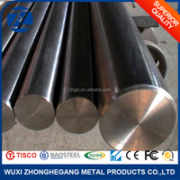 Bright Surface Mirror Polished Cold Rolled 304 Stainless Steel Rod