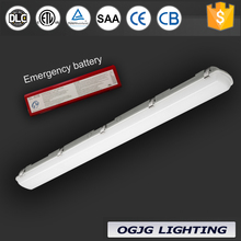 indoor Cold Storage Waterproof Linear lamp industrial weatherproof Ceiling Mounted garage emergency ip65 LED triproof light