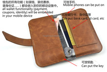 Sude leather case for IPhone 6/OEM factory for iphone 6 /cell phone case for iphone 6