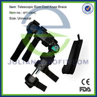Telescopic Hinge Rom Cool Knee Brace (Adjustable angle and length)