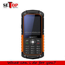 Cheapest Basic IP68 Waterproof Mini Mobile phone 2.4inch Dual SIM SOS Sigal Rugged Feature Phone