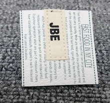 Manufacturer direct made sewing printed custom leather label