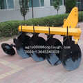 tubed disc plough High quality 60-80HP Farm Tractor Mounted 3 Disc Plough