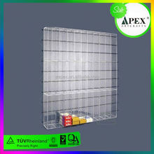 LED acrylic cigarette pack display box ,acrylic case for cigarette display with fiber optic