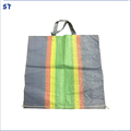 Alibaba china low price plastic woven grain bag pp fabric
