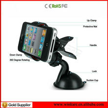 Manufacturer selling Universal Windshield Car Mount Holder/Cradle for the iPhone 5S/5C/5/4S/4, Samsung Galaxy S5/S4/S3/S2