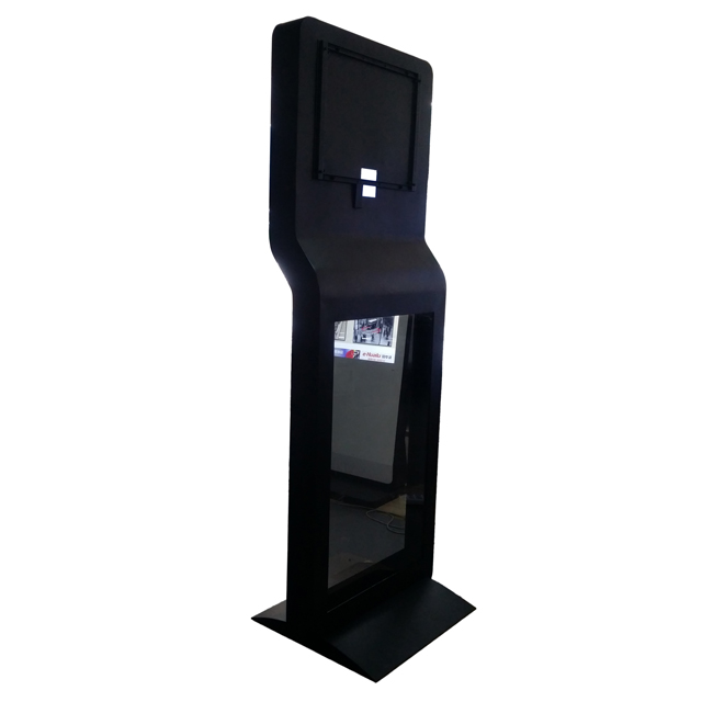 Shopping mall display wayfinding 55 inch advetising kiosk