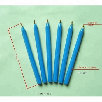 one time use mini promotional ball point pen