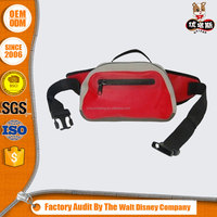 Promotional fancy waterproof PVC waist bag