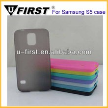 Soft Gel skin TPU cover case For Samsung Galaxy S5