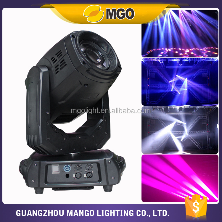 New product 350W beam spot wash 3in1 stage moving head light