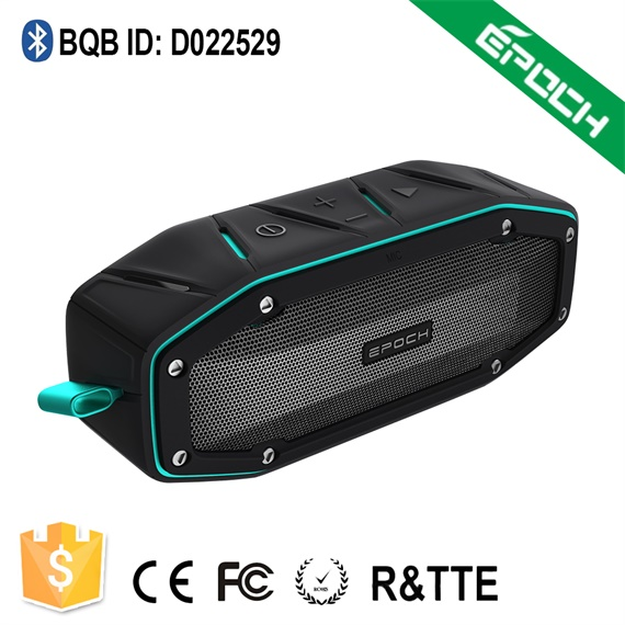 weather resistant outdoor wireless big sound passive radiator bicycle bluetooth speaker