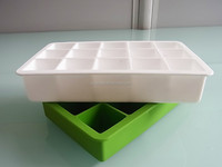 Silicone Ice Cube Trays - the Best BPA Free Square Shaped Cubes on the Market - Small Enough to Fit in Your Cocktail