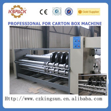 JGSL-06010 carton box making machine /paperboard slotter machine/automatic grooving machine