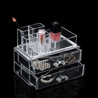 Gift Set For Girl High Transparent Cosmetic Makeup Organizer Acrylic Factory