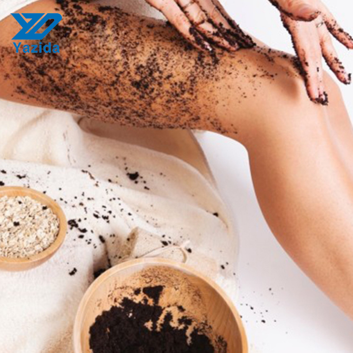 Private label best activated coffee body scrub 340g