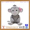 lovely monkey plush toy for girls with flower