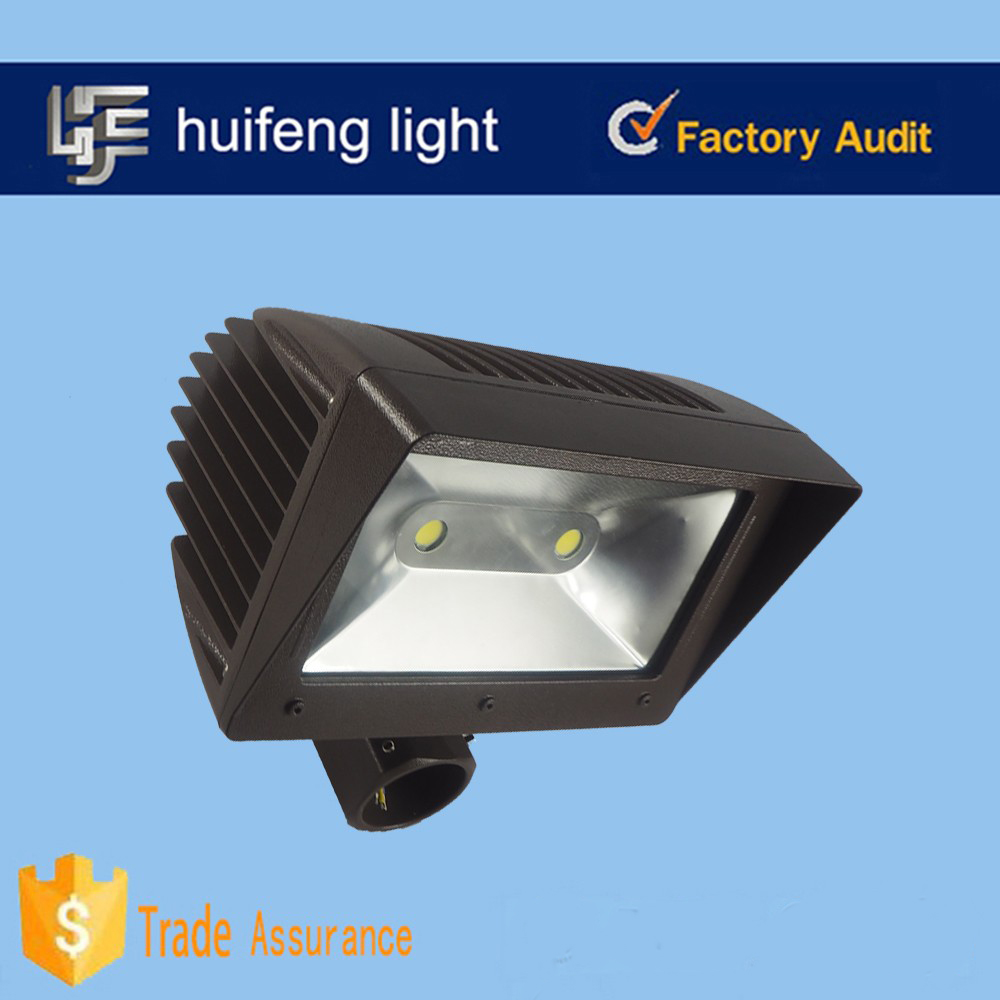 US style outdoor led flood light 80w with Slip Fitter