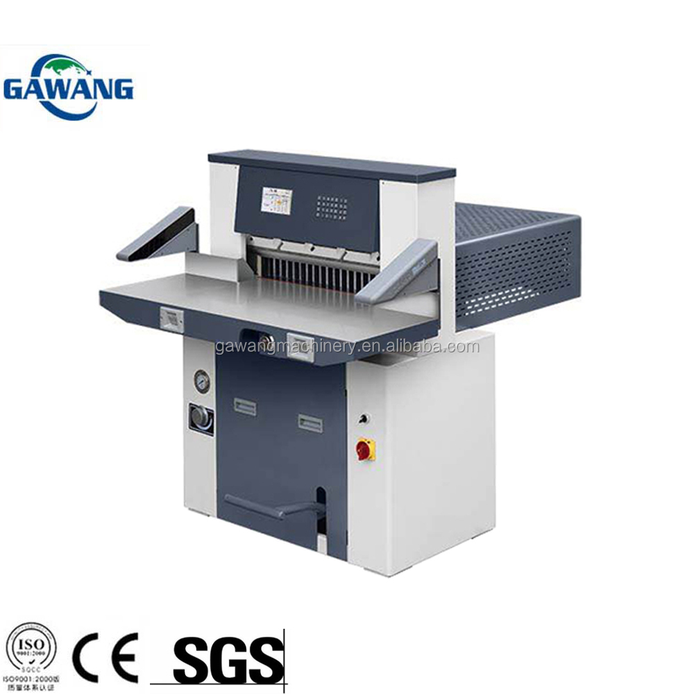 High Speed Automatic Standing Type Office Book Paper Cutter