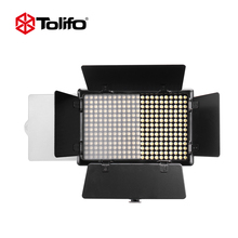 Dongguan Tolifo 20W Product Photoshoot Soft Panel LED Video Light Mini Photo Studio Lighting Kit with Barndoor for Photographer