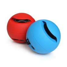 Portable Wireless Bluetooth Mini Speaker Small Ball With TF Card Slot FM Radio Outdoor Sport Items Round For MP3 iphone Samsung