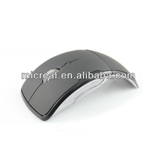 Factory price 2.4GHz Optical Foldable Wireless Mouse