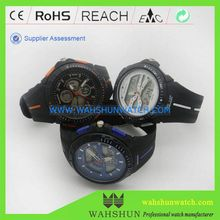 Wrist digital men black dive watches waterproof