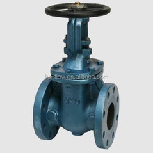 "flexible wedge 5"" inch cast iron gate valve price"