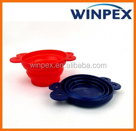 Collapsible dog bowl, Foldable dog bowl, Silicone Dog bowl