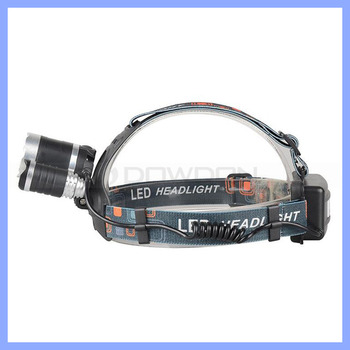 3x XML T6 LED HeadLight Outdoor Activities Using High Power Waterproof Head Light Torch Flashlight Hiking Headlamp Fishing Light