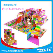 Free design fashional Kids Funny Zone roller slide playground commercial from Mingte