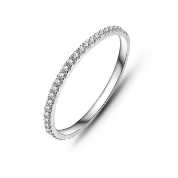925 sterling silver 약혼 링 jewelry women cubic 지르코니아 cz diamond 영원 웨딩 rings