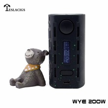 WYE 200w vape mod with big power wattage and six protection settings is the outstanding mod in electronics industry