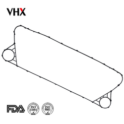 StainlessSteel Plates and Gaskets Replacement APV A085 plate heat exchanger gasket