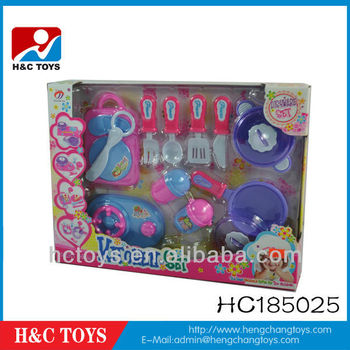 Beautiful toy kitchen set,girls cooking set HC185025, View toy ...
