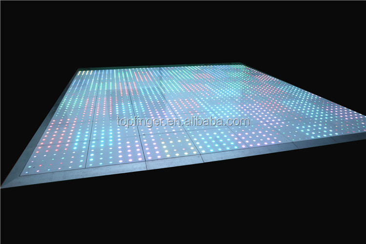 White Dance With Led Disco Floor Lights For Sale